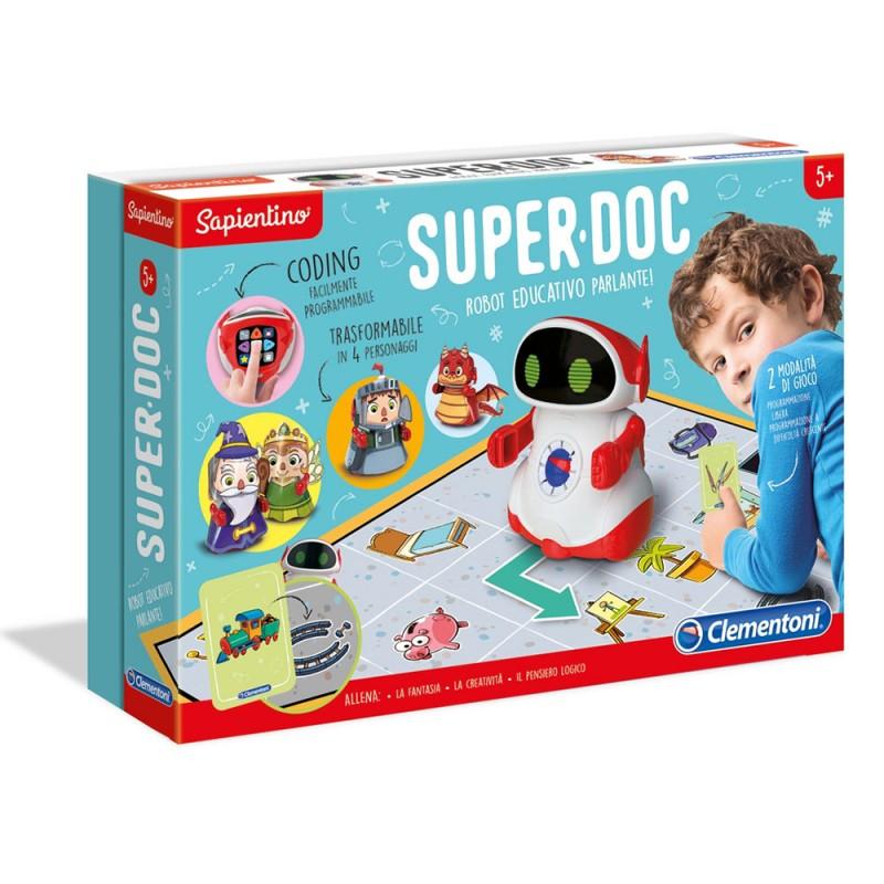 Superdoc Robot Educativo Sapientino - Clementoni  - MazzeoGiocattoli.it