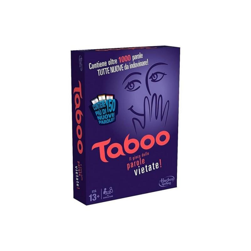 Taboo Gioco Di Società Hasbro - MazzeoGiocattoli.it