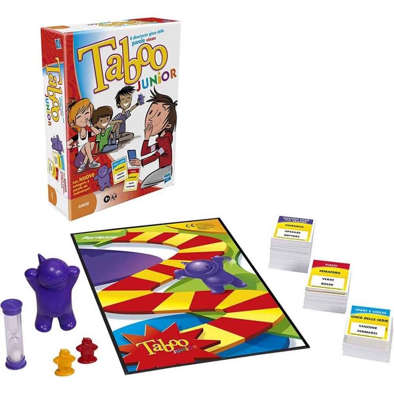 Taboo Junior - Hasbro  - MazzeoGiocattoli.it