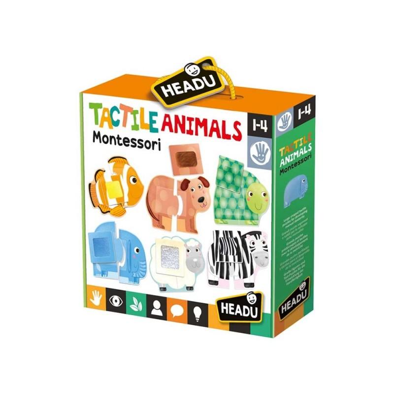 Tactile Animals - Headu  - MazzeoGiocattoli.it