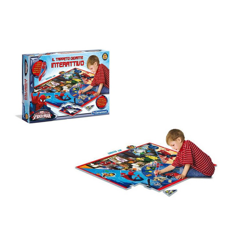 Tappeto Interattivo Ultimate Spiderman - Clementoni - MazzeoGiocattoli.it