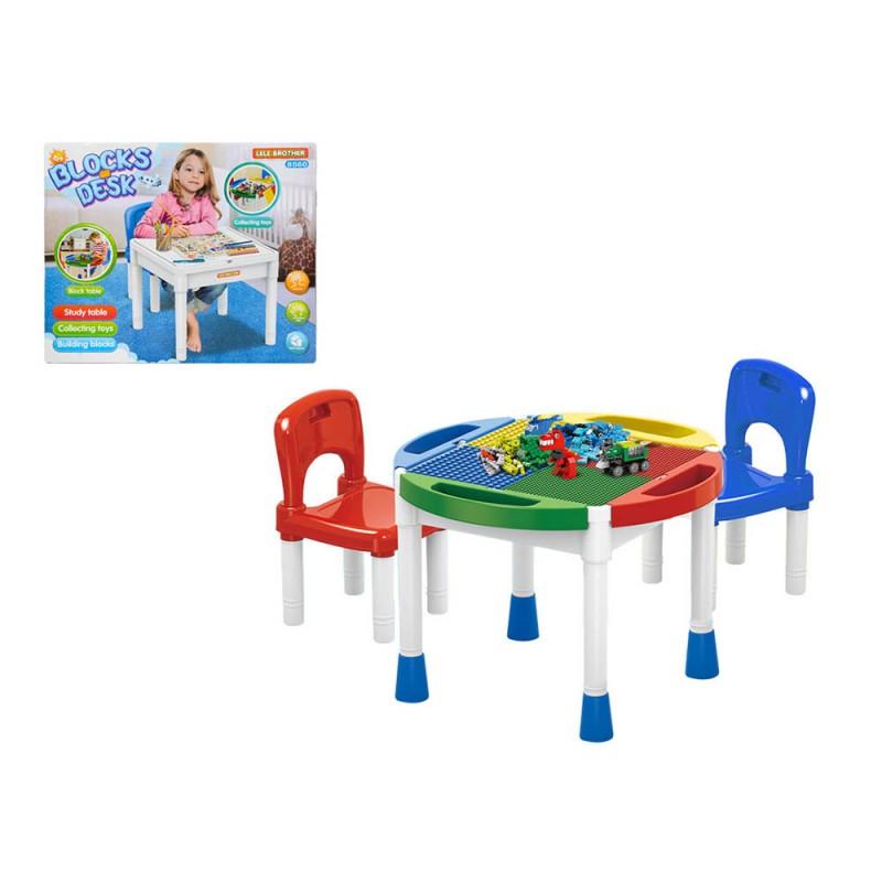 Set Tavolino E Sedie Multifunzione Per Bambini - Mazzeo Giocattoli  - MazzeoGiocattoli.it
