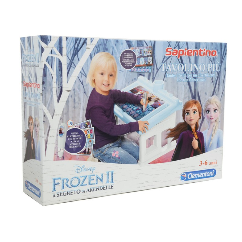 Tavolino Più Frozen 2 Sapientino - Clementoni - MazzeoGiocattoli.it