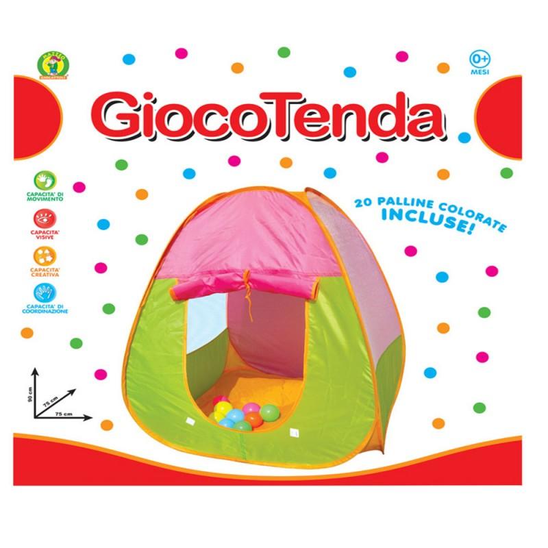 Tenda Da Gioco Per Bambini - MAZZEO GIOCATTOLI - MazzeoGiocattoli.it