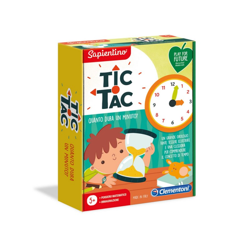 Sapientino - Tic Tac Quando Dura Un Minuto? - Clementoni  - MazzeoGiocattoli.it