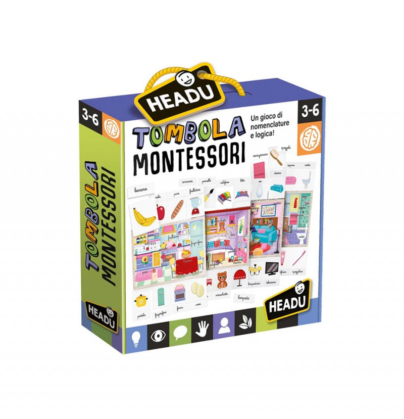 Tombola Montessori - Headu  - MazzeoGiocattoli.it