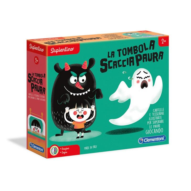 Tombola Schiaccia Paure Sapientino - Clementoni  - MazzeoGiocattoli.it