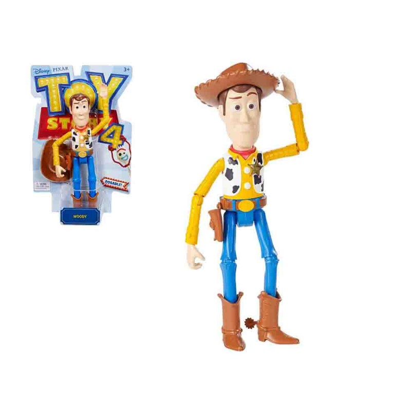Toy Story Woody 18 Cm - Mattel - MazzeoGiocattoli.it