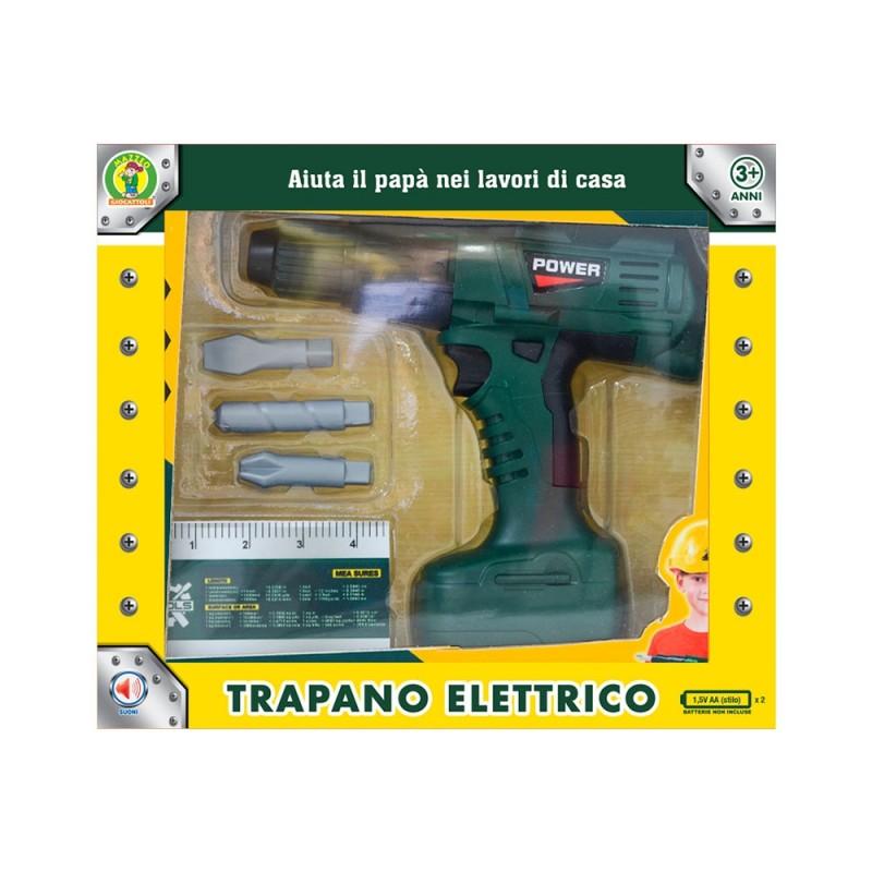 Trapano Giocattolo Elettronico - Mazzeo Giocattoli  - MazzeoGiocattoli.it