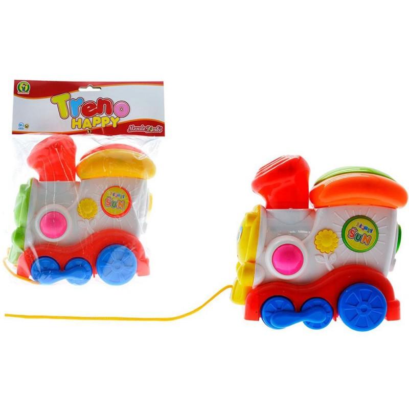 Trenino Happy Per Bambini - MONDO BIMBI - Mazzeo Giocattoli - MazzeoGiocattoli.it