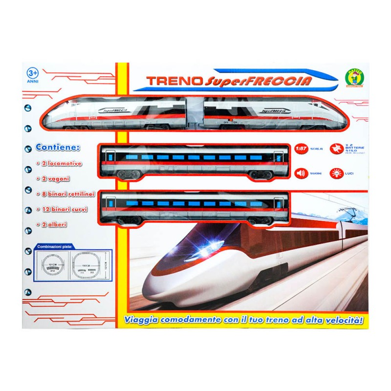 Pista Treno Super Freccia - Mazzeo Giocattoli - MazzeoGiocattoli.it