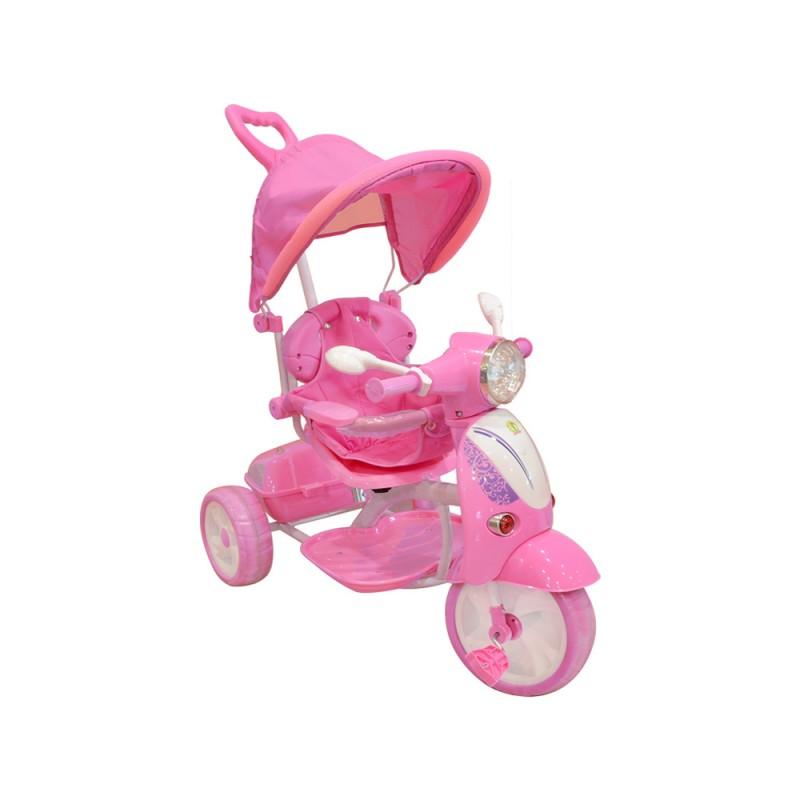 Triciclo Bimba Con Cappottina Regolabile - Mazzeo Giocattoli  - MazzeoGiocattoli.it