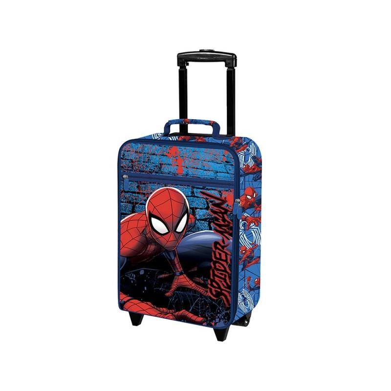 Trolley Da Cabina Per Bambino Personaggio Spider Man - Coriex  - MazzeoGiocattoli.it