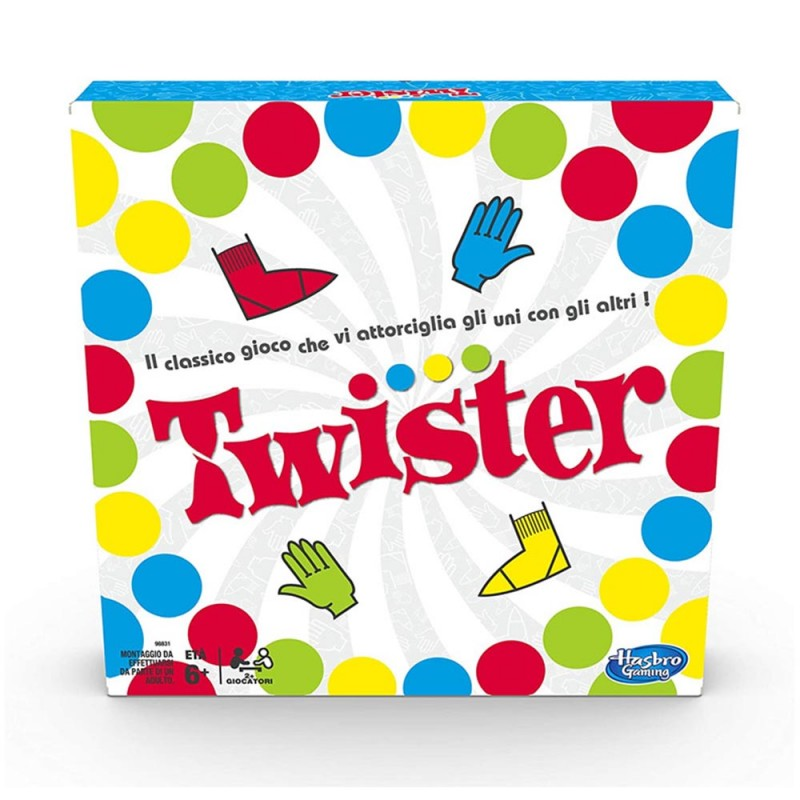 Twister - Hasbro - MazzeoGiocattoli.it