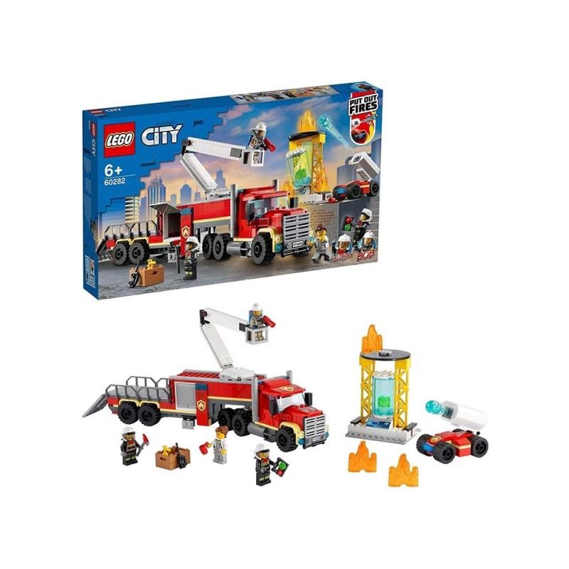 Unità Di Comando Antincendio - Lego City - MazzeoGiocattoli.it