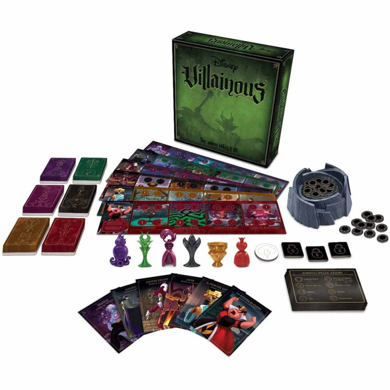 Villanius Disney - Ravensburger  - MazzeoGiocattoli.it