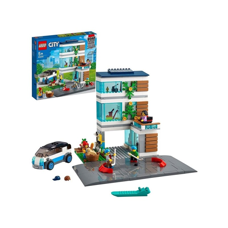 Villetta Familiare - Lego City  - MazzeoGiocattoli.it