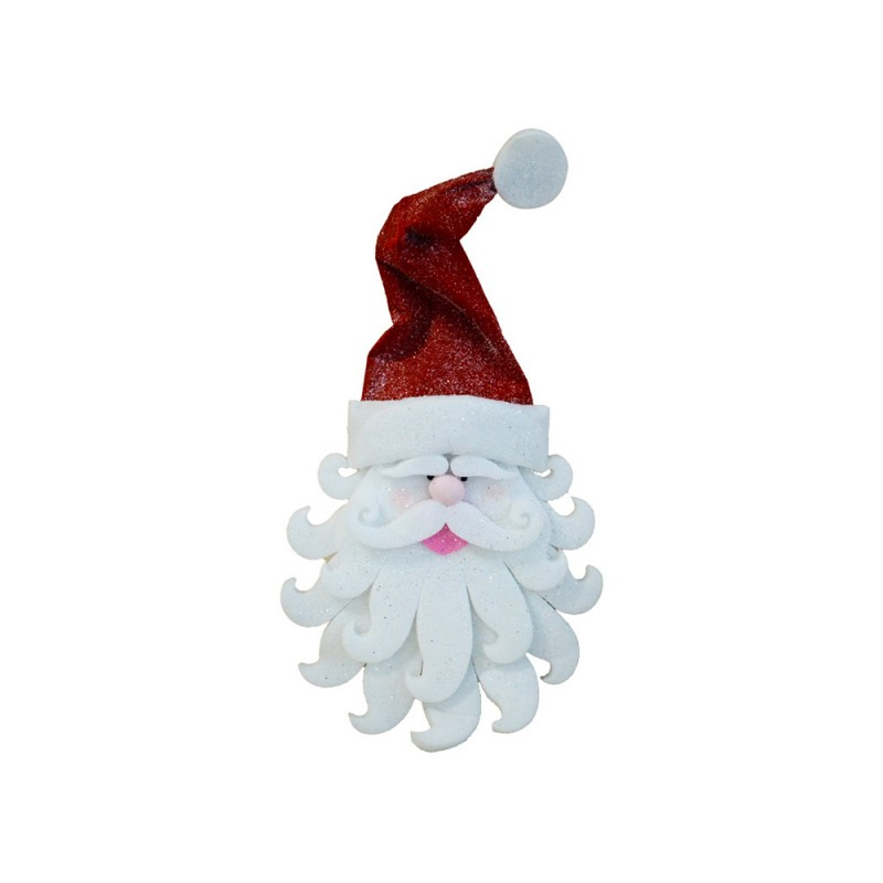 Volto Di Babbo Natale Decorativo - MazzeoGiocattoli.it