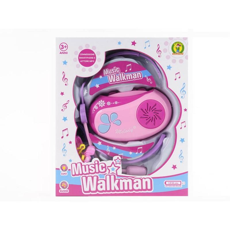 Walkman Bimba Con Luci E Suoni - Mazzeo Giocattoli  - MazzeoGiocattoli.it