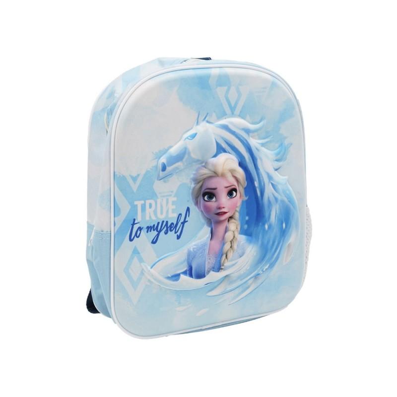 Zaino Asilo Frozen 3d Con Singolo Scomparto - Kids Euroswan - MazzeoGiocattoli.it