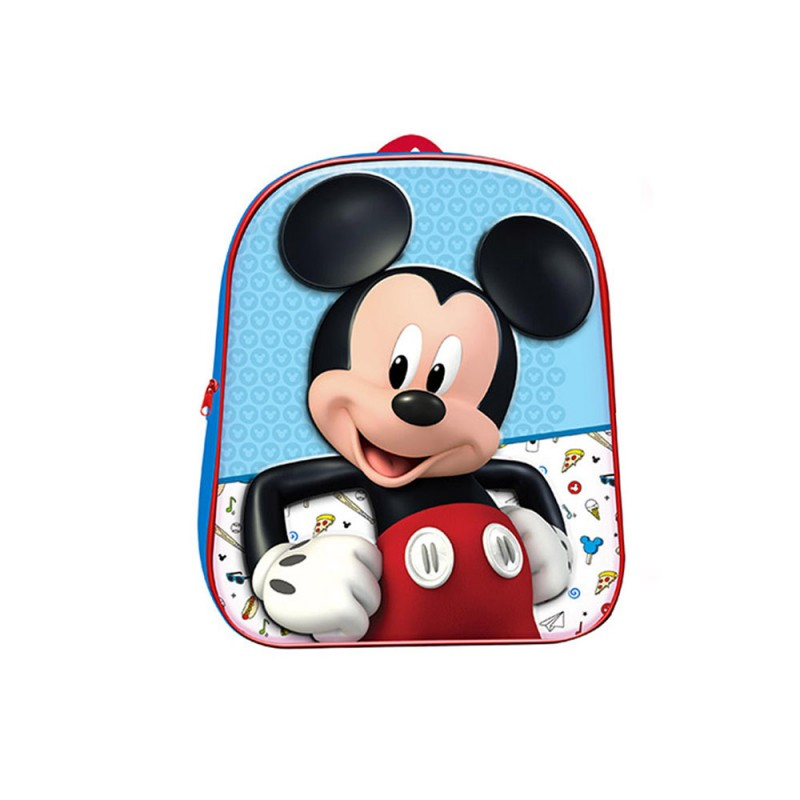 Zaino Asilo Mickey Mouse 3D  - MazzeoGiocattoli.it