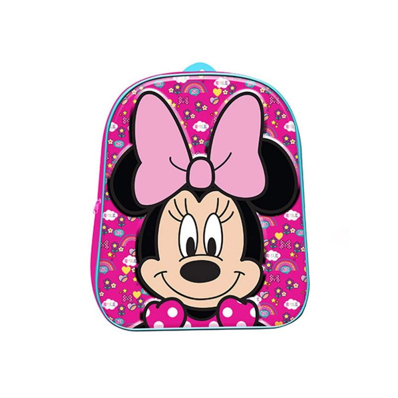 Zaino Asilo Minnie Mouse 3D - MazzeoGiocattoli.it
