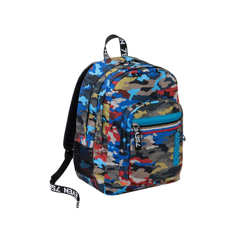 Zaino Freethink Adventure Camo - Seven  - MazzeoGiocattoli.it
