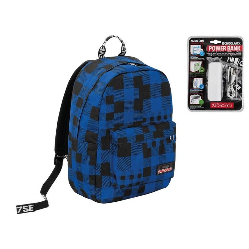 Zaino I School Pack Check - Seven - MazzeoGiocattoli.it