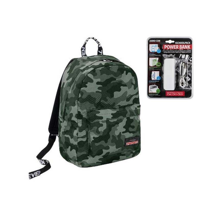 Zaino I School Pack Crew - Seven  - MazzeoGiocattoli.it