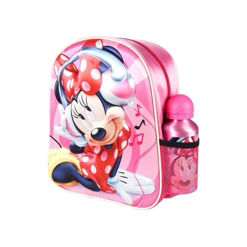 Zaino Per Bambini 3D Minnie Mouse Rosa  - MazzeoGiocattoli.it
