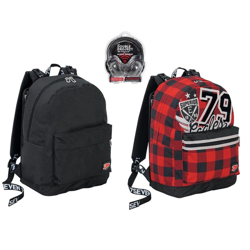 Zaino Reversibile College Boy - Seven  - MazzeoGiocattoli.it