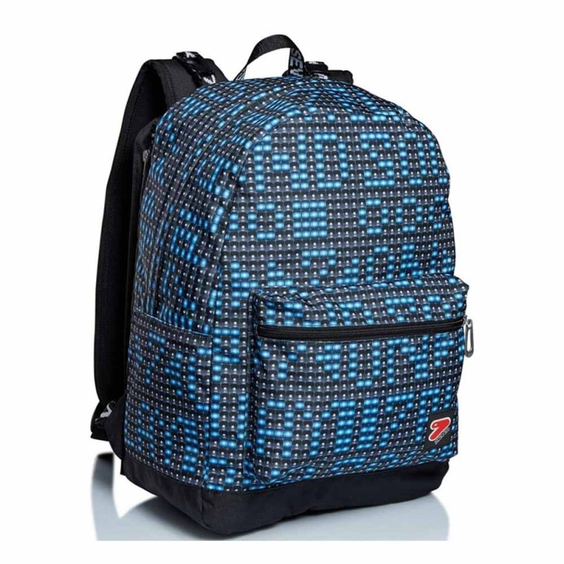 Zaino Reversibile Reversible Backpack Ledwall - Seven  - MazzeoGiocattoli.it