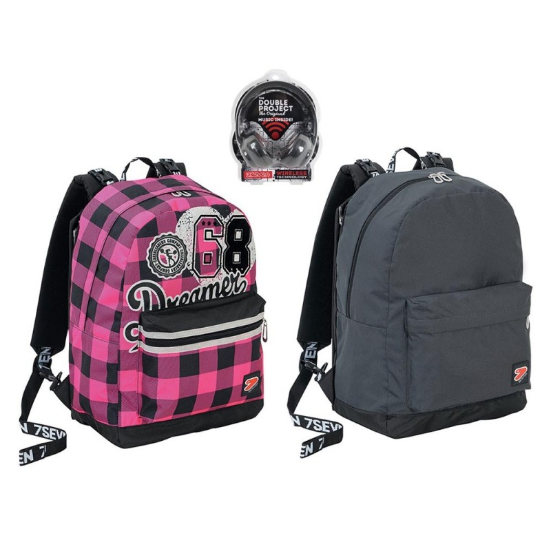 Zaino Reversibile Seven College Girl - Seven  - MazzeoGiocattoli.it