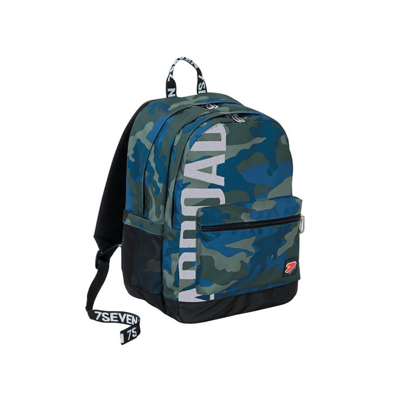 Zaino The Double Pro XXL Camo Royal - Seven - MazzeoGiocattoli.it