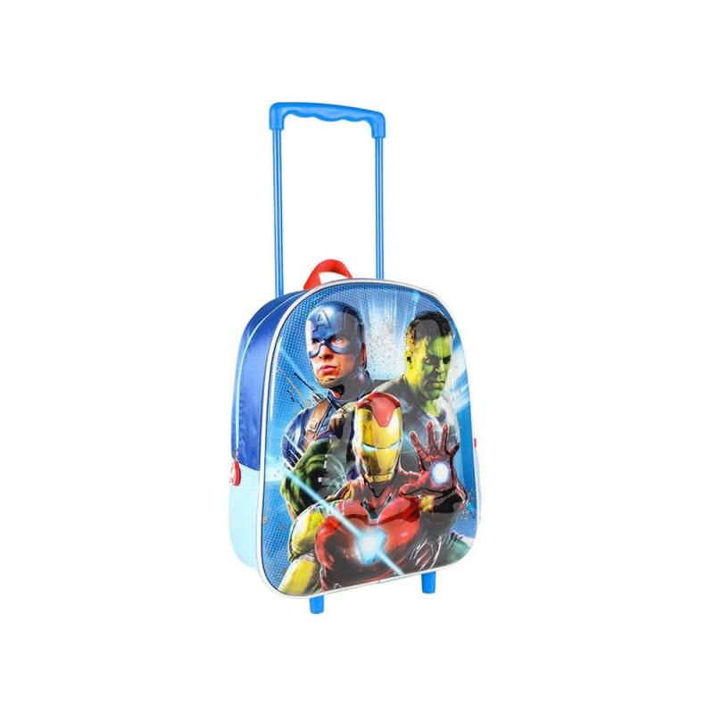 Zaino Trolley Asilo Avengers 3d  - MazzeoGiocattoli.it