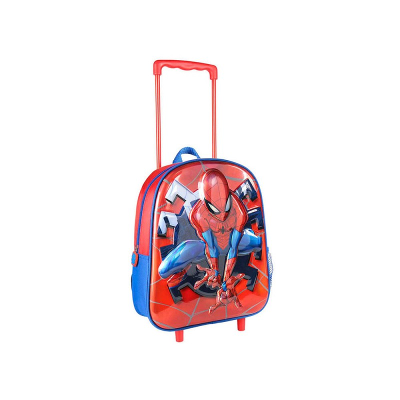 Zaino Trolley Asilo Spider Man 3d - MazzeoGiocattoli.it