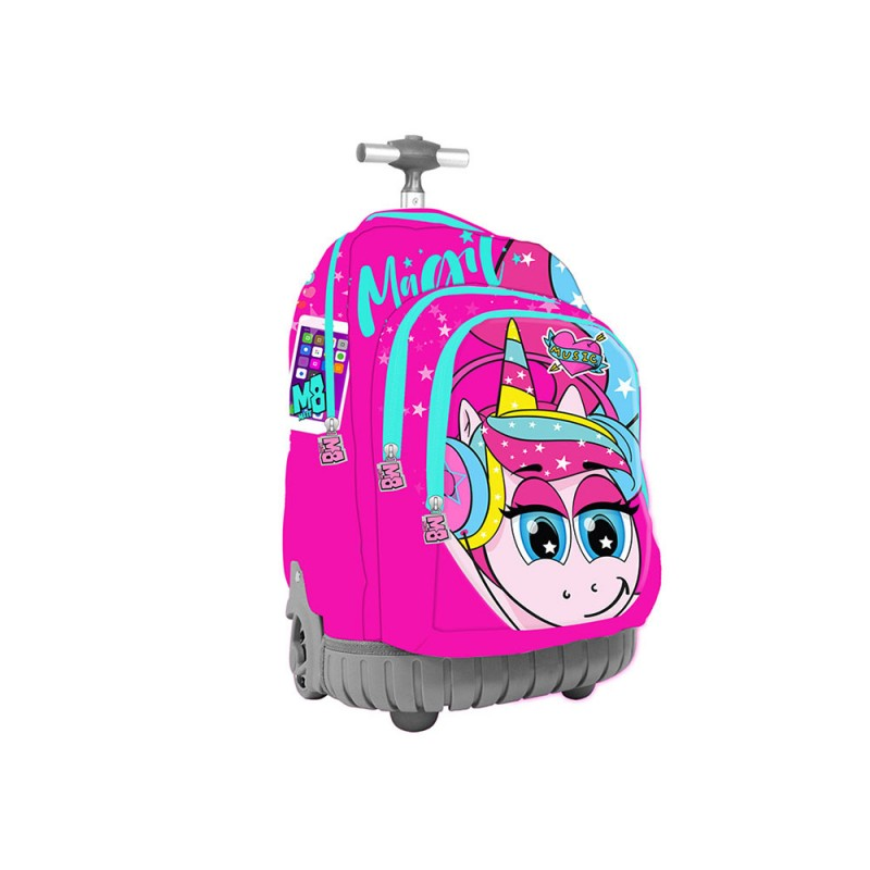 Zaino Trolley Scuola Unicorno Child Girl  - MazzeoGiocattoli.it