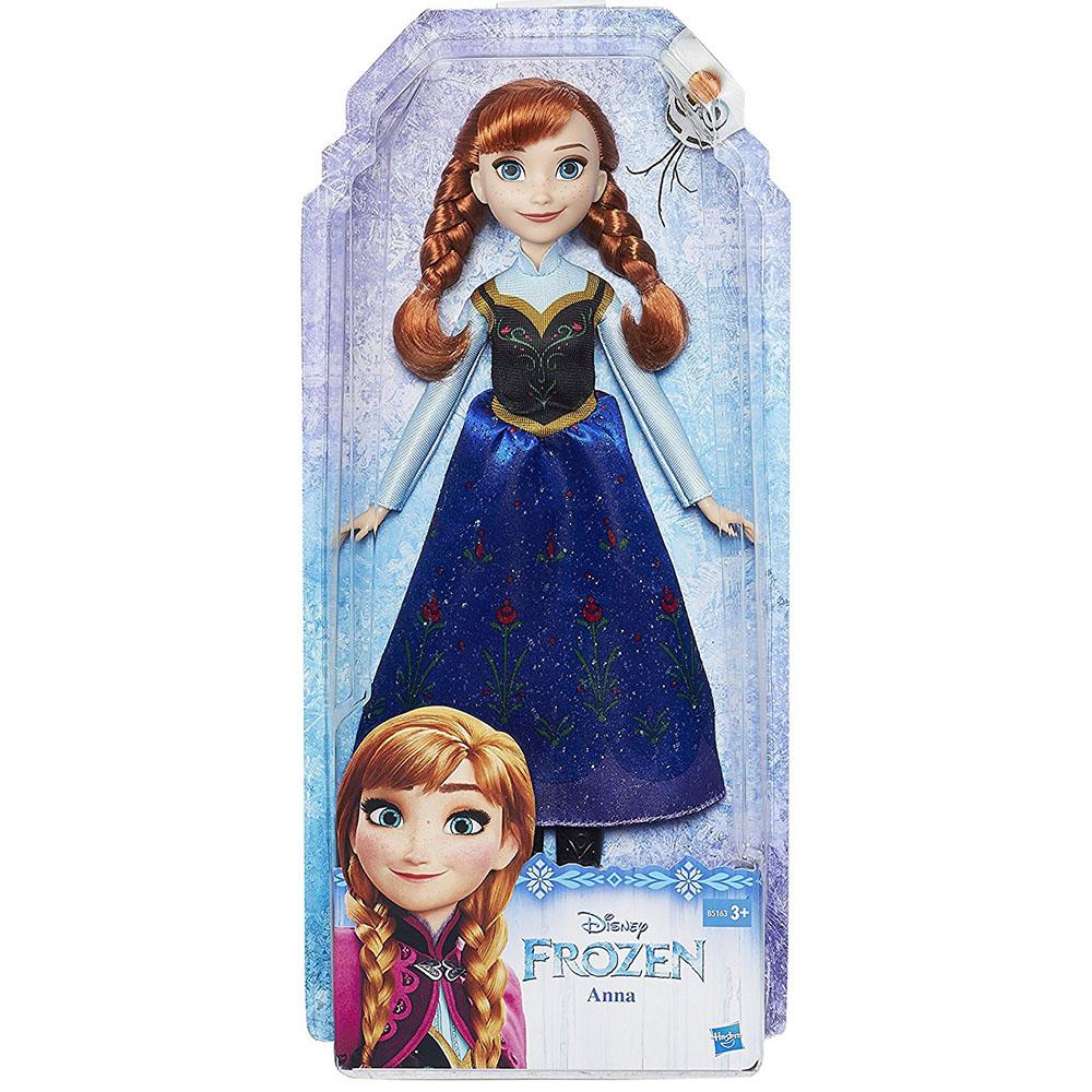Bambola-Frozen-Principessa-Disney-gioco-giocattolo-bambine-bimbe-Hasbro-vestiti